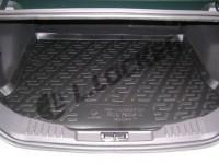 Коврик в багажник Ford Focus III hatchback (11-) (полимерный) L.Locker