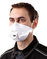 Респиратор маска 3M FFP2 с клапаном 9162E