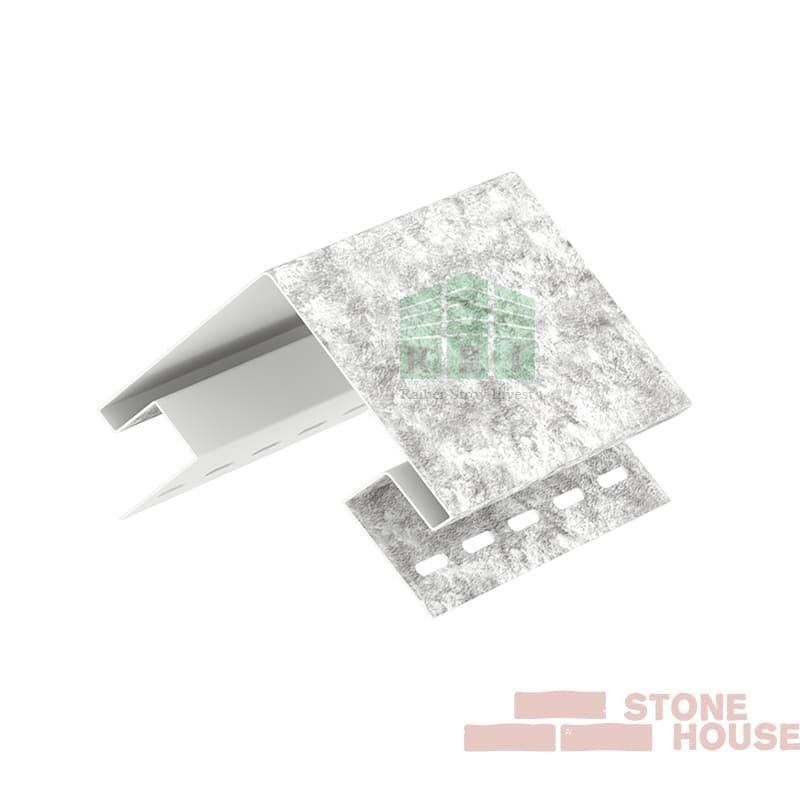 Наружный угол Stone House (светло-серый кварцит)