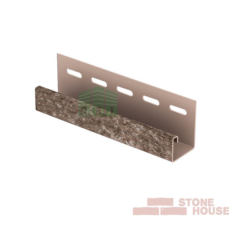 J-планка Stone House (коричневый кварцит)