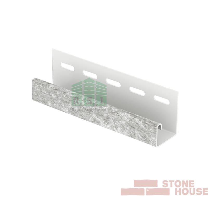 J-планка Stone House (светло-серый кварцит)