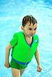 Жилет для плавания синий, фото 4