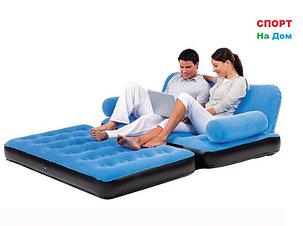 Надувной диван - кровать Bestwey 67356 (Синий), фото 2