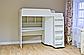 Кровать чердак детская Капризун <К440>, белый, фото 4