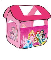 Детская игровая палатка с принцессами