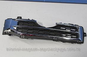 96865487 Решётка в бампер левая для Chevrolet Captiva C100 2007-2010 Б/У