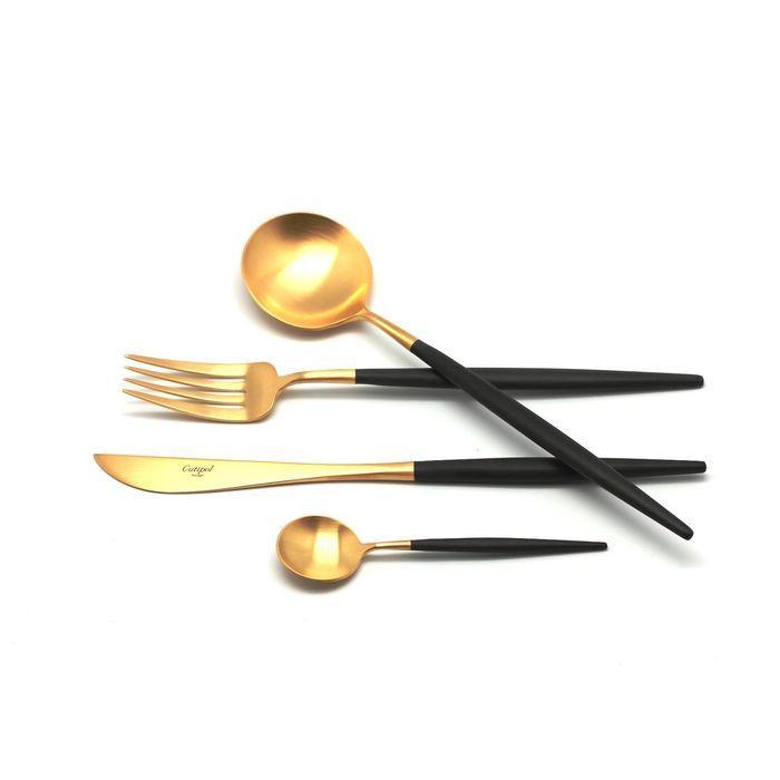 Набор столовых приборов Goa, 24 предмета, Gold