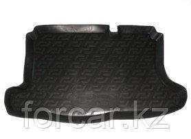 Коврик в багажник Ford Fusion hatchback (02-) (полимерный) L.Locker