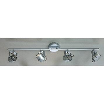 "Бра CL525541 ""Ринг"" 4x50W GU10 серебро 8x56x8 см"