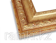 Пластиковая рама в Алматы (цвет золото)