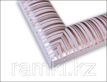 Пластиковая рама в Алматы (цвет:розовая с текстурой)