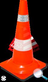 Конус дорожный 520  без утяжеления Для дорожных работ