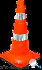 Конус резиновый дорожный  520 мм Для дорожных работ, фото 2