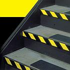Пленка световозвращающая  черно-желтая для ограждения опасностей, фото 5