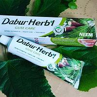Зубная паста с нимом для десен Дабур Хербл (Neem Gum Care toothpaste, Dabur Herb'l) 150 гр