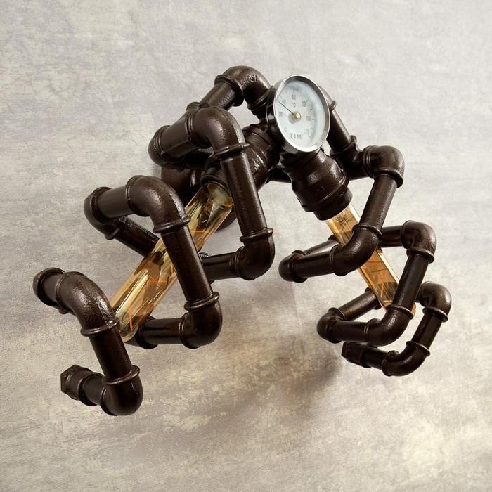 Бра 4426/2 E27 60Вт коричневый 44х30х29 см