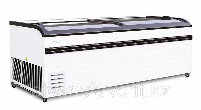 """Морозильная бонета """"FROSTOR"""" F 2100/2500 BE с гнутым стеклом"""