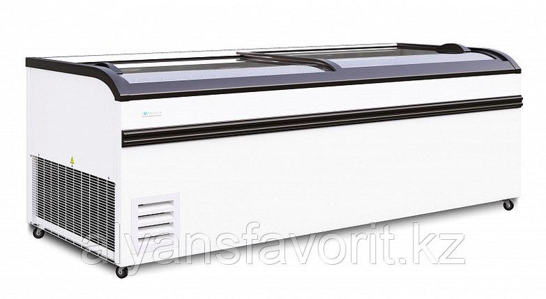 """Морозильная бонета """"FROSTOR"""" F 2100/2500 BE с гнутым стеклом, фото 2"""