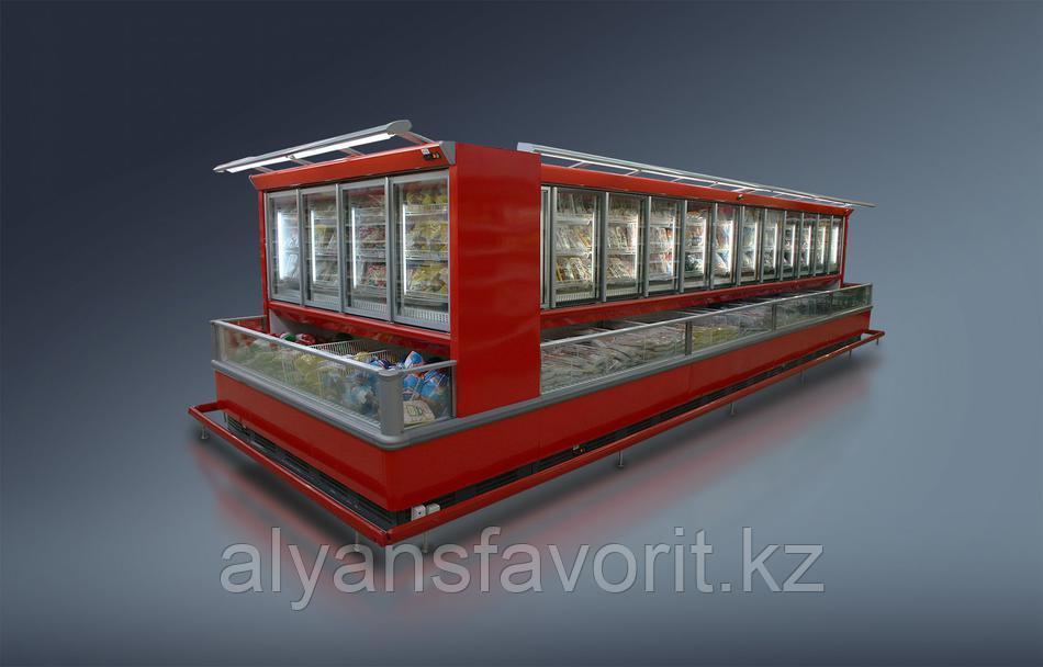 Комбинированный шкаф-бонета Романа ВН 23