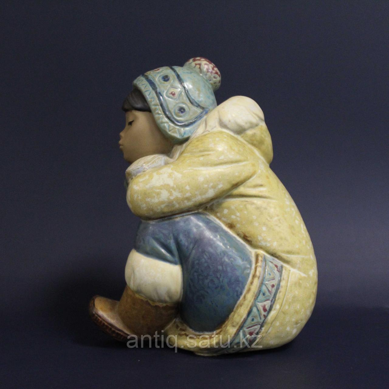 Мальчик-эскимос. Фарфоровая мануфактура Lladro - фото 3