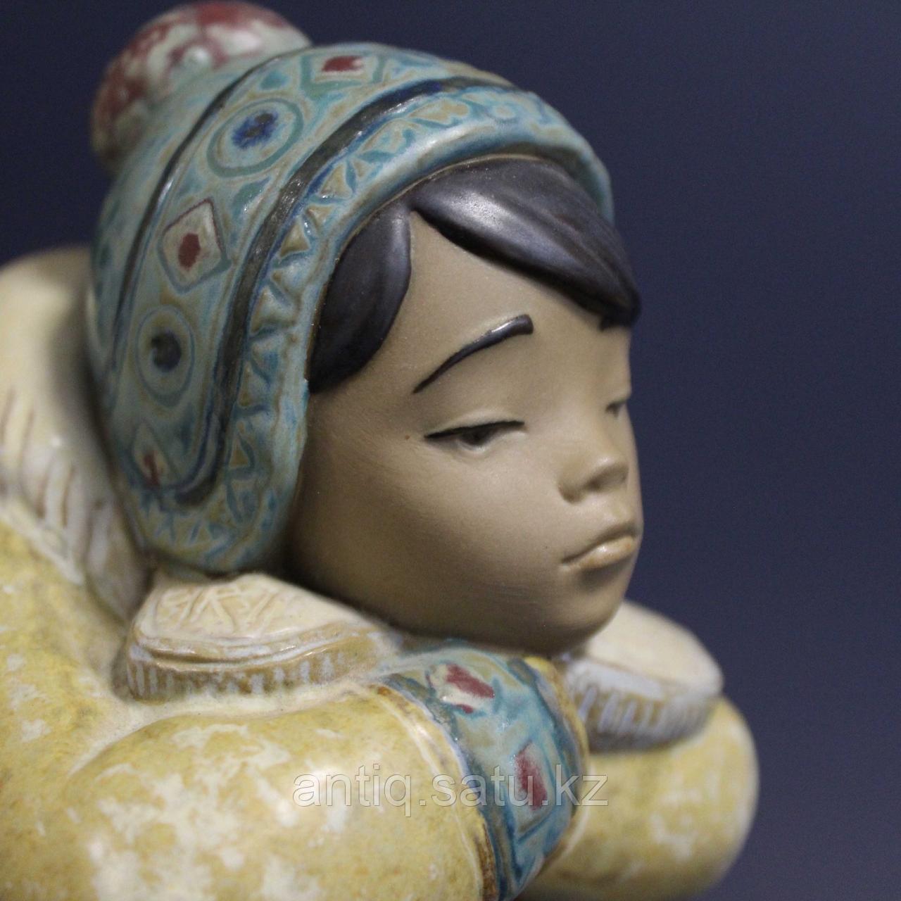 Мальчик-эскимос. Фарфоровая мануфактура Lladro - фото 6