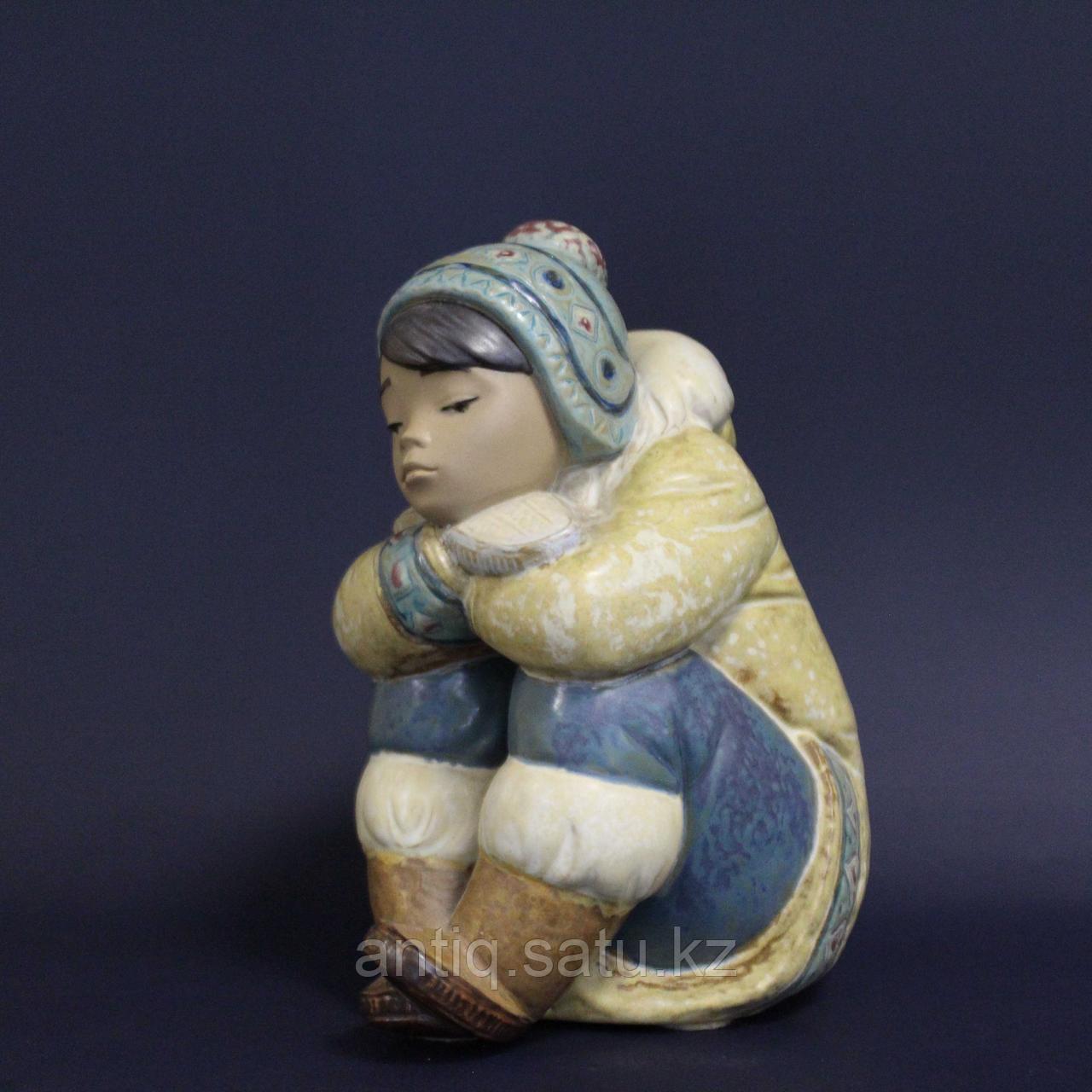Мальчик-эскимос. Фарфоровая мануфактура Lladro - фото 2