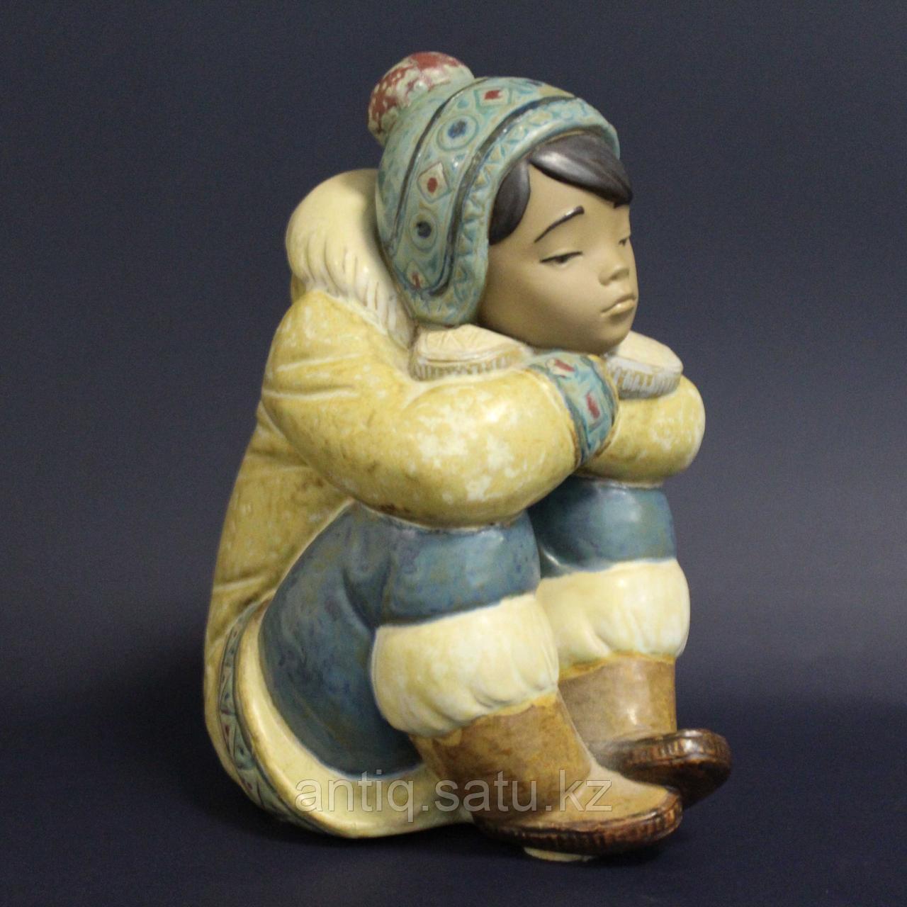 Мальчик-эскимос. Фарфоровая мануфактура Lladro - фото 5