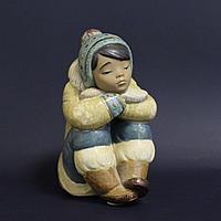 Мальчик-эскимос. Фарфоровая мануфактура Lladro