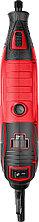 Гравер электрический, ЗУБР ЗГ-160 КН41, 220В, 160 Вт, 3.2 мм, 15000-35000 об/мин, набор насадок, цанг и держав, фото 2