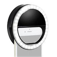 Светодиодное кольцо на телефон для селфи с тремя режимами яркости
