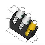 Диспенсер №2 для одноразовых стаканчиков, фото 2