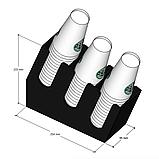 Диспенсер №3 малый для одноразовых стаканчиков, фото 2