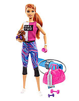 Барби Фитнес набор с аксессуарами Barbie GJG59, фото 1