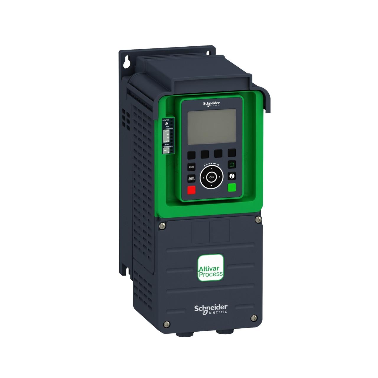 ATV930U75N4 Преобразователь частоты ATV930 7,5/5,5кВт 380В 3ф