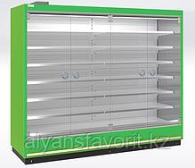 Охлаждаемые стеллажи RIMINI H10 SG (одинарное К-стекло), фото 2