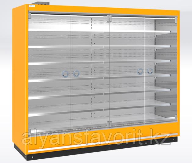 Охлаждаемые стеллажи RIMINI H10 SG (одинарное К-стекло)