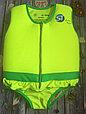 Детский жилет для плавания желтый с зеленым, фото 3