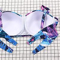 Купальник Flower Print Blue (XL), фото 4