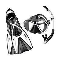 Комплект ласты, маска, трубка MARES X-ONE MAREA WHITE