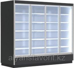 Охлаждаемый стеллаж Rimini H9 DG (стеллаж с дверями (двойное стекло))