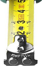 Рулетка KRAFTOOL GRAND, обрезиненный пластиковый корпус, 5м/19мм, фото 2