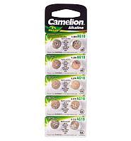 Батарейка Camelion AG10, Alkaline, 1.5V (10 шт.)