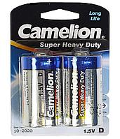 Батарейка Camelion D R20P-BP2B, Super Heavy Duty, 1.5V, mAh (2 шт.)