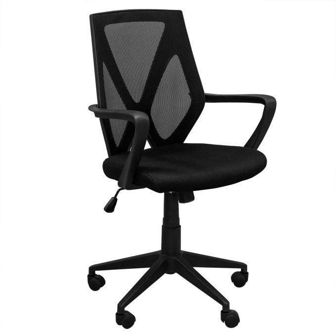 Офисное кресло, кресло ZETA, Зета,  ZETA,  компьютерное кресло, ZETA,  мод CX1158M черный ВИ