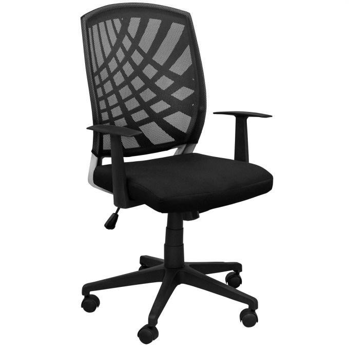 Офисное кресло, кресло ZETA, Зета,  ZETA,  компьютерное кресло, ZETA,  чёрное №CX1245M ВИ