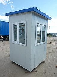 Будка охранника, утеплитель 100мм, охранная будка, КПП 1,5*1,5*2,5 м