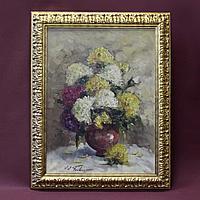 Натюрморт с цветами в вазе. Автор: Jean Jagues Foulon (1923-1980)
