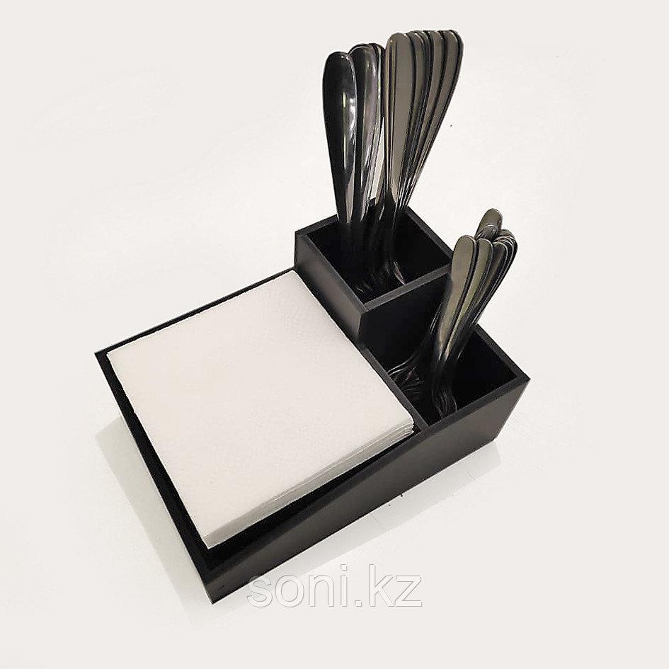 Диспенсер №5 (ОРГАНАЙЗЕР) для салфеток, столовых приборов, мешалок и трубочек