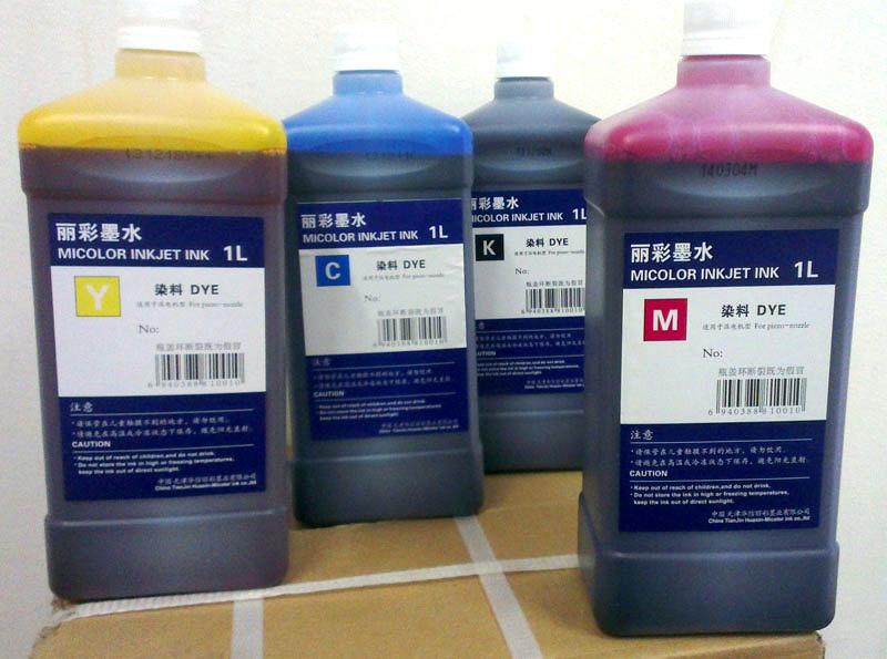 Micolor Кey (черный) краска на водной основе DYE