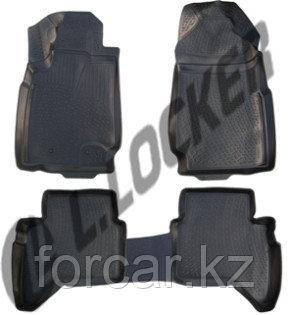 3D Коврики в салон Ford Ranger T6 (11-) (полимерные) L.Locker